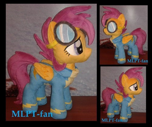Plushie wonderbolts Scootaloo - 8385455360