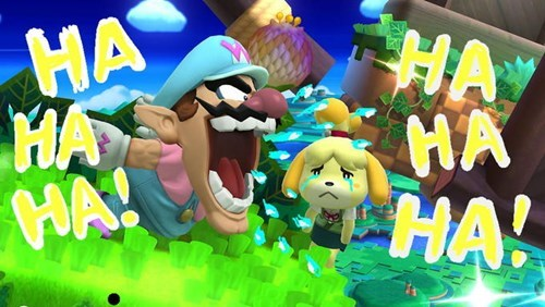 wario isabelle super smash bros - 8385460224
