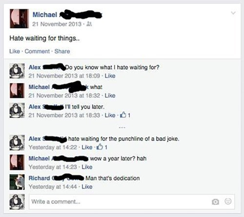 jokes,waiting,facebook