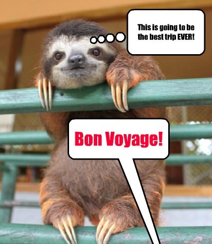 Bon Voyage! This is going to be the best trip EVER!