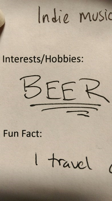 beer interest funny hobby