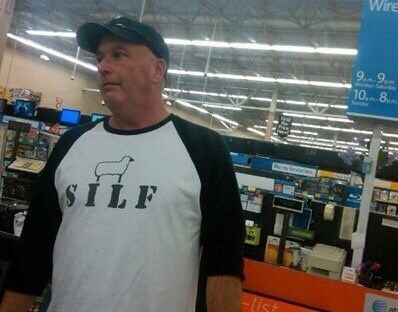 poorly dressed t shirts sheep - 8386000128