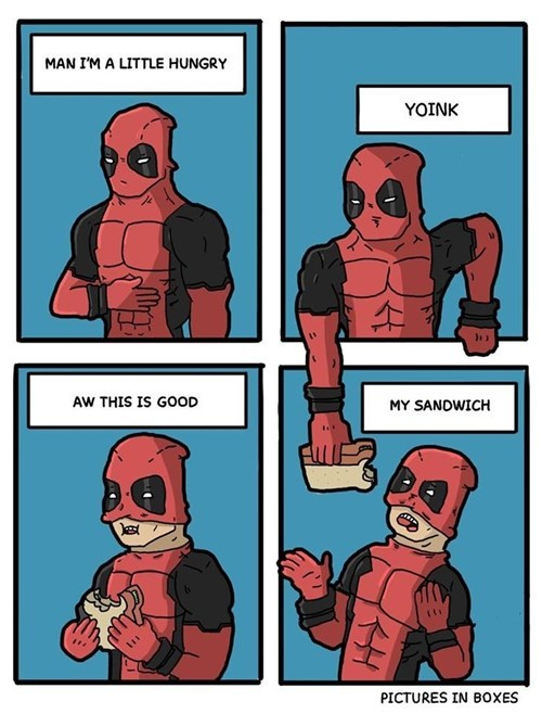 deadpool sandwich web comics - 8386042368
