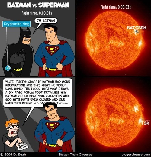 Batman v Superman batman superman web comics - 8386045440