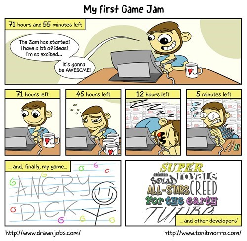 It was my first game jam
