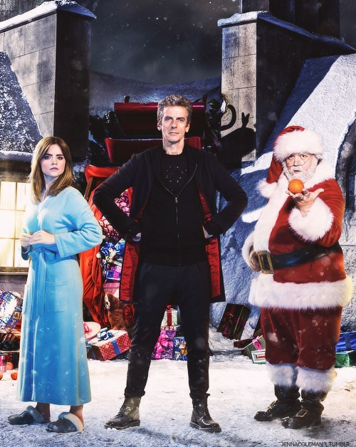 christmas clara oswin oswald 12th Doctor santa claus - 8386168064