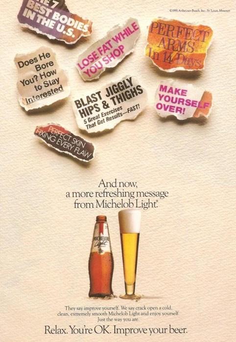 beer,ads,michelob,funny,vintage