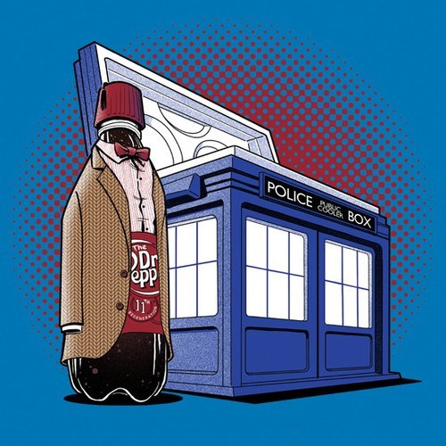 dr pepper the doctor tshirts lunch - 8386183936