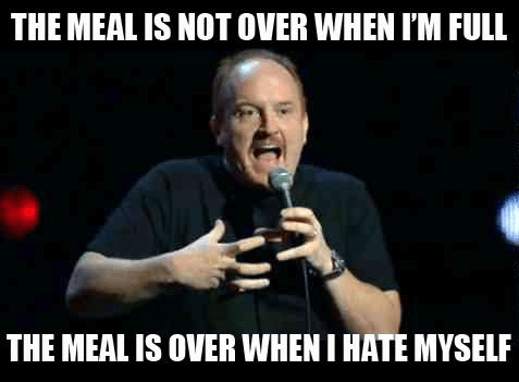 thanksgiving louis ck food eating