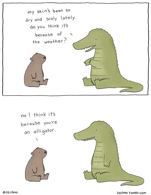 skin alligators critters web comics - 8386203904