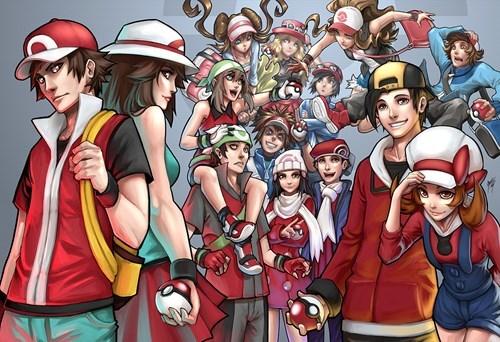 Pokémon,Fan Art,protagonist