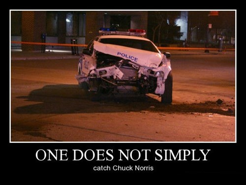 chuck norris cops funny police - 8386328064