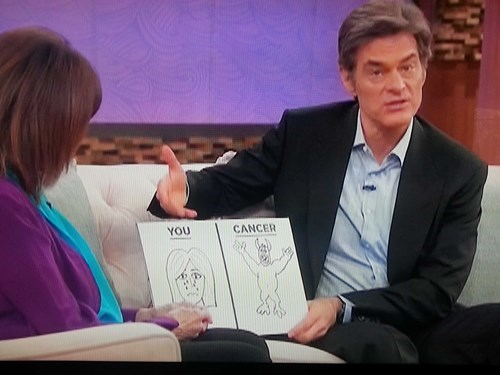 wtf TV cancer dr oz - 8386397440