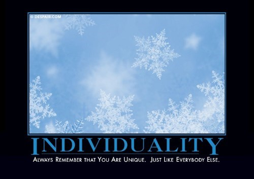 individuality funny snowflake wtf - 8386522368