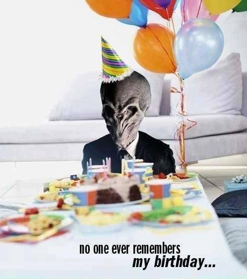 Sad birthdays the silence - 8386780416