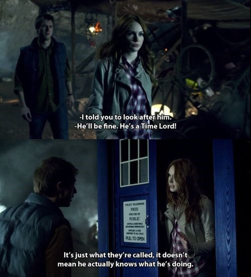 Time lord amy pond