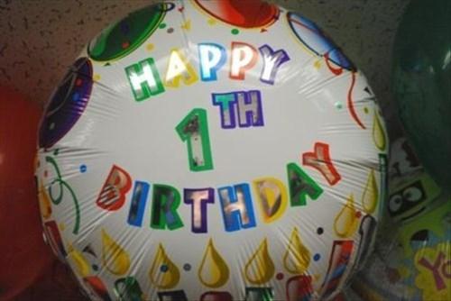 birthday Balloons parenting misspelling spelling - 8386800384