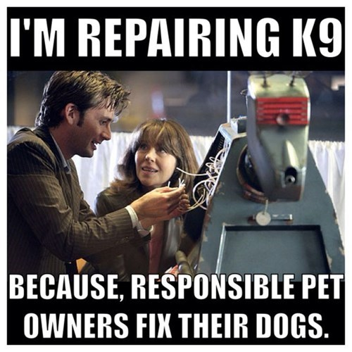 pets 10th doctor k9 - 8386805248