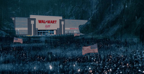 Lord of the Rings Walmart helms deep - 8386830592
