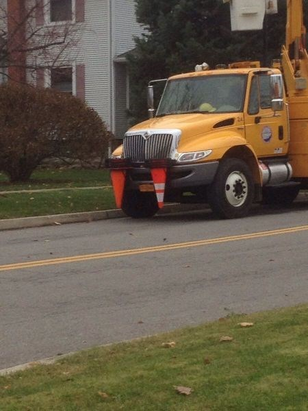 monday thru friday,traffic cone,truck,fangs