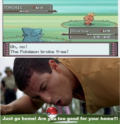 Pokémon,poke ball,happy gilmore