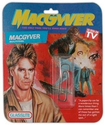 sonic screwdriver paper clip macguyver - 8386888960