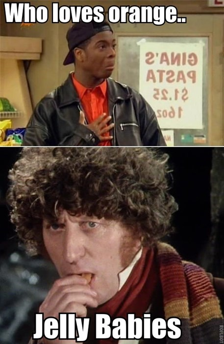 jelly babies keenan and kel 4th doctor - 8386891264