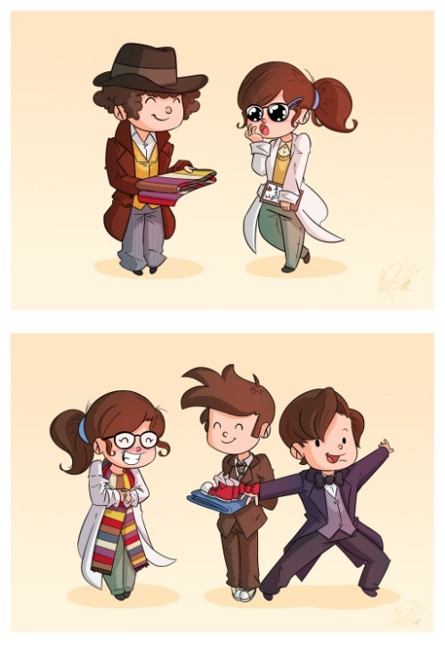 bowtie,osgood,10th doctor,11th Doctor