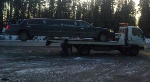 monday thru friday limo truck - 8386910464