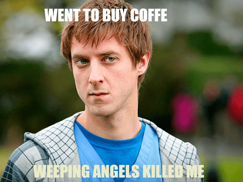rory williams weeping angels bad luck - 8386939136