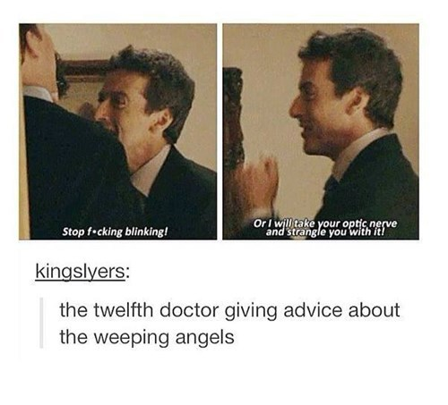 weeping angels 12th Doctor dont-blink - 8386940672