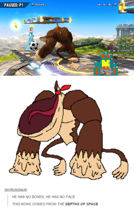 donkey kong,super smash bros,expand dong,glitches