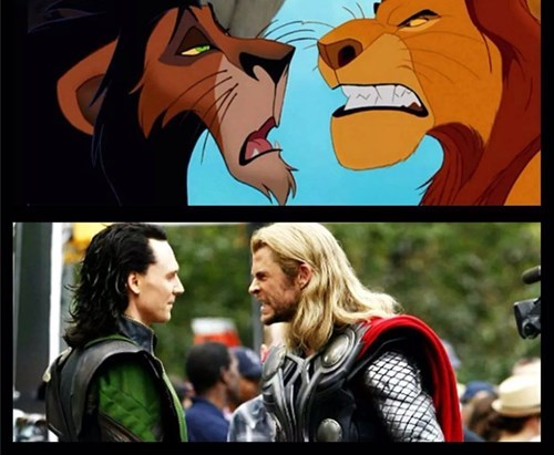loki Thor lion king - 8386972672