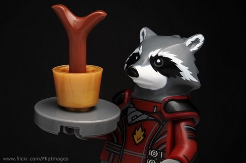 lego rocket raccoon groot - 8386982912