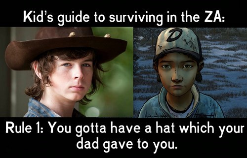 carl grimes clementine The Walking Dead - 8387052288