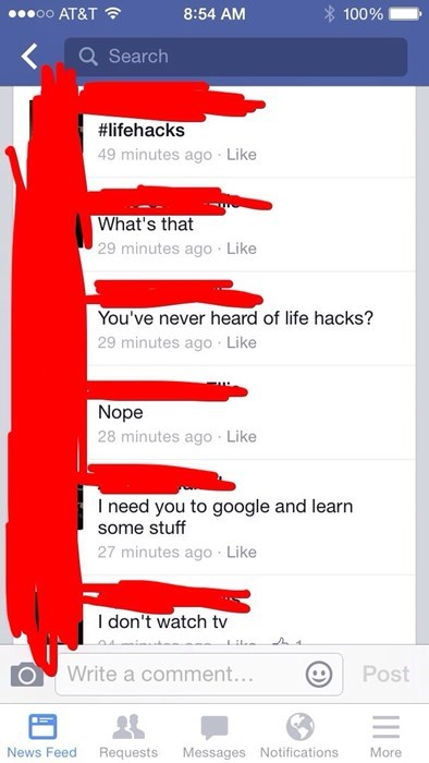 facepalm life hacks google - 8387129088