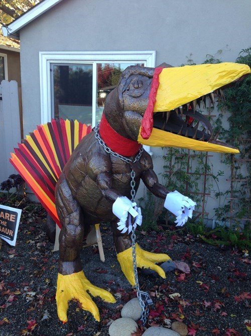 thanksgiving hacked irl dinosaurs t rex g rated win - 8387131392