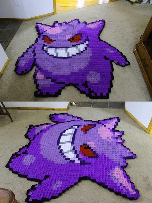 Pokémon,gengar,blanket