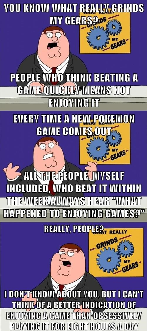 Pokémon Memes you know what really grinds my gears - 8387781376