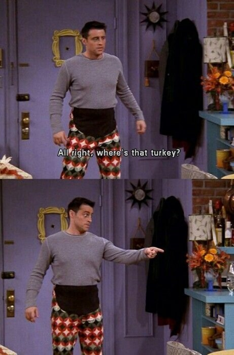 poorly dressed thanksgiving pants friends maternity - 8387926784