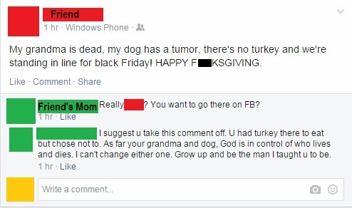 thanksgiving,TMI,black friday,facebook