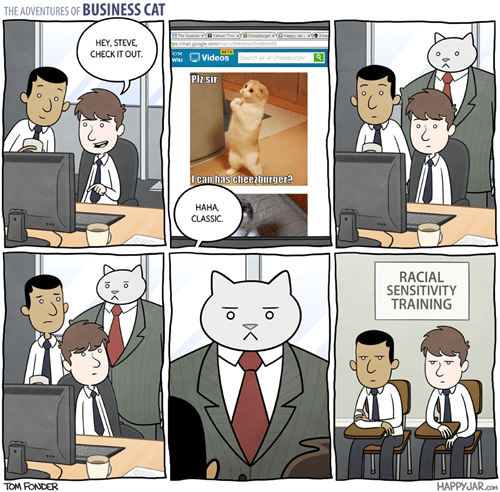 Business Cat Cats web comics - 8388107264