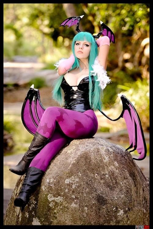 cosplay,Darkstalkers