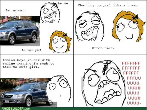 rage,cars,dating