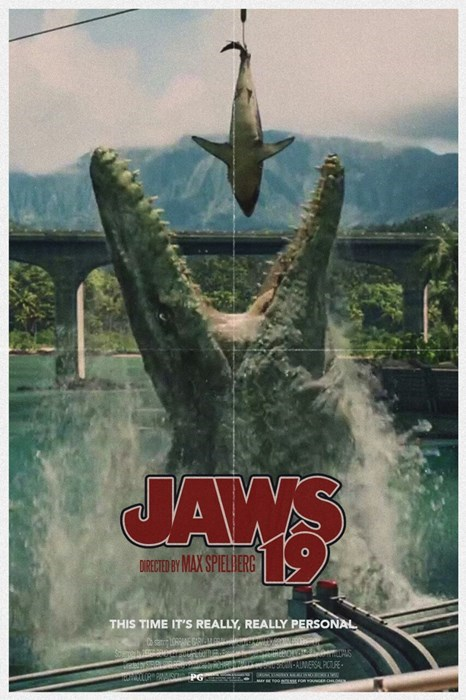 Fan Art jaws jurassic word - 8388274688