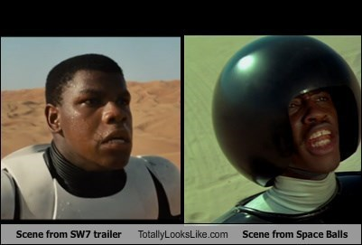 totally looks like star wars space balls scifi star wars vii - 8388576512