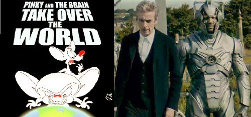 pinky and the brain 12th Doctor danny pink - 8388915712