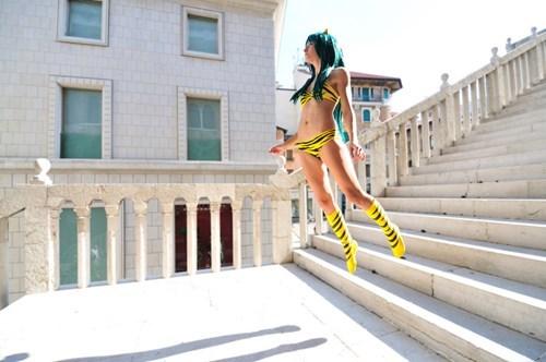 cosplay anime Urusei Yatsura - 8389557248