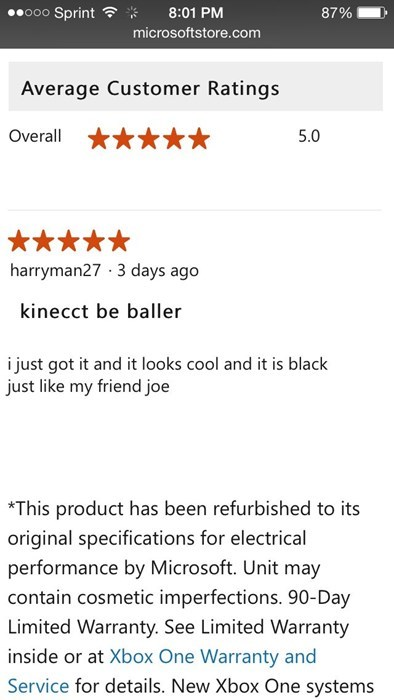 reviews people named joe ballin - 8390142976