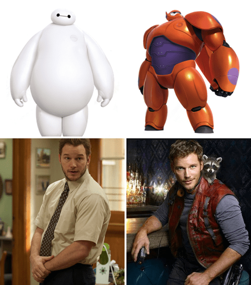 fit,guardians of the galaxy,big hero 6